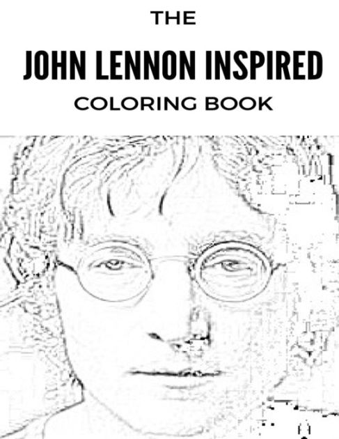 John Lennon Inspired Coloring Book: Beatles and Sixties