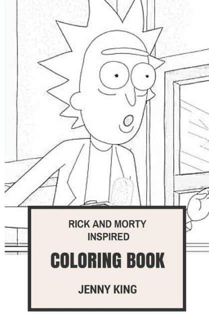 Rick and Morty Inspired Coloring Book: Philosophocal
