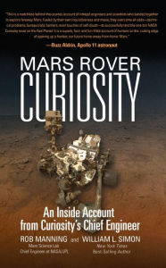 book cover Mars Rover Curiosity