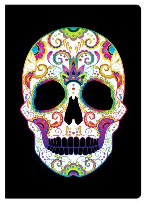 Sugar Skull Flatline Journal By Piccadilly Enterprises Other Format Barnes Noble