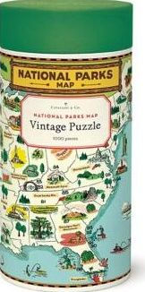 Cavallini & Co - National Parks Map 1000 Piece Jigsaw Puzzle by Cavallini &  Co. | Barnes & Noble®