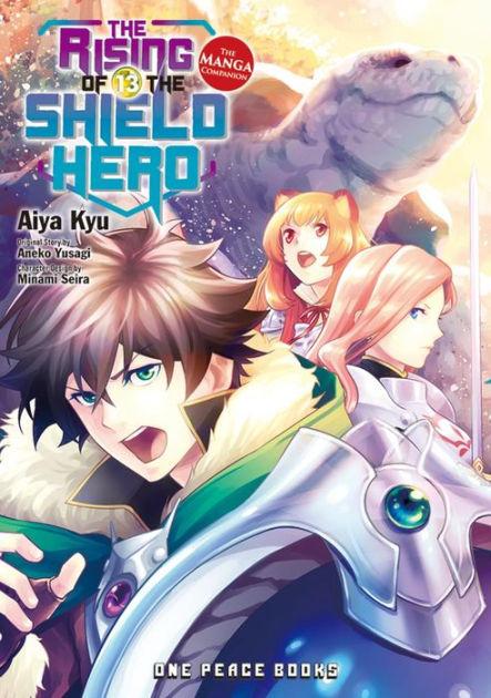 The Rise Of The Shield Hero : shield, Rising, Shield, Volume, Manga, Companion, Aneko, Yusagi,, Paperback, Barnes, Noble®