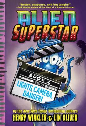 Henry Danger Books : henry, danger, books, Lights,, Camera,, Danger!, (Alien, Superstar, Henry, Winkler,, Oliver, (eBook), Barnes, Noble®