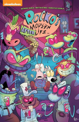 Rocko's Modern Life Recycle : rocko's, modern, recycle, Rocko's, Modern, Afterlife, Anthony, Burch,, Mattia, Paperback, Barnes, Noble®