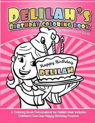 delilah s birthday coloring