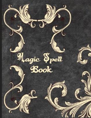 magic spell book book