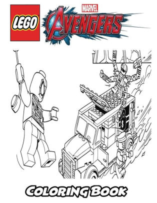 Lego Marvel Avengers Coloring Book Coloring Book For Kids And Adults Activity Book With Fun Easy And Relaxing Coloring Pages By Alexa Ivazewa Paperback Barnes Noble