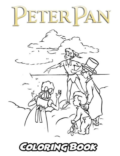 Peter Pan Coloring Book: Coloring Book for Kids and Adults
