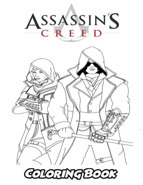 Assassins Creed Coloring Pages : assassins, creed, coloring, pages, Assasin's, Creed, Coloring, Book:, Adults,, Activity, Easy,, Relaxing, Pages, Alexa, Ivazewa,, Paperback, Barnes, Noble®