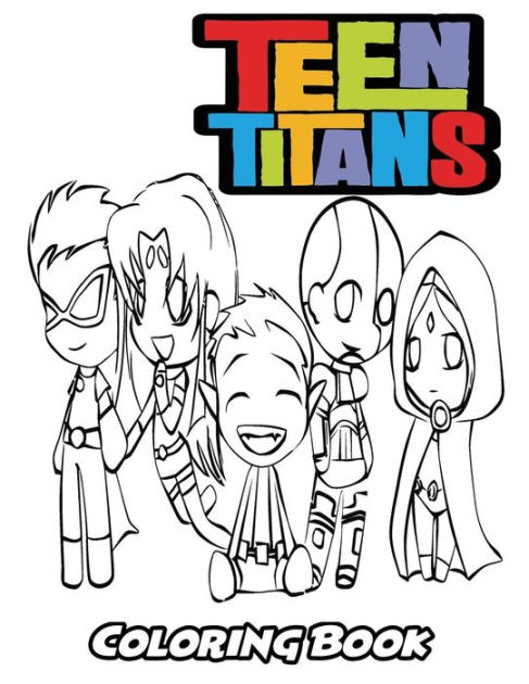 Teen Titan Coloring : titan, coloring, Titans, Coloring, Book:, Adults,, Activity, Easy,, Relaxing, Pages, Alexa, Ivazewa,, Paperback, Barnes, Noble®