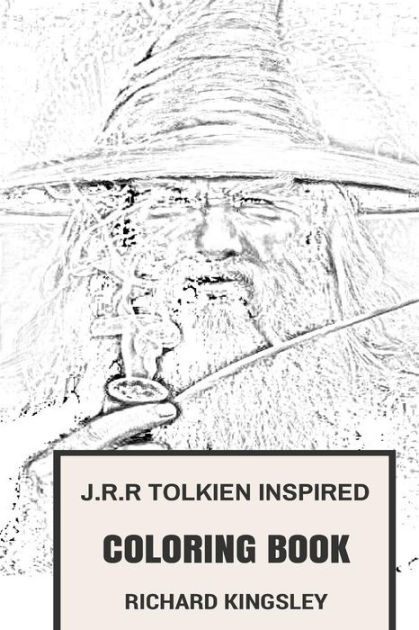 J.R.R Tolkien Inspired Coloring Book: The Lord of the