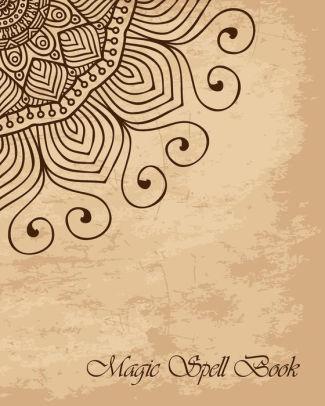 magic spell book mandala