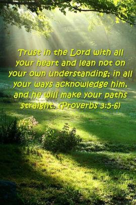 bible verse journal trust