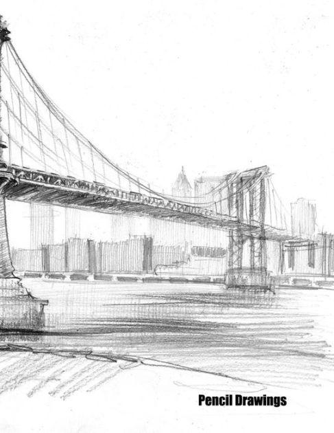 Pencil Drawings: A pencil drawings pad for pencil
