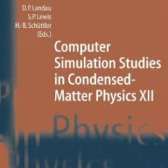 Feynman Diagram Techniques In Condensed Matter Physics Kohler Engine Ignition Wiring Computer Simulation Studies Xii Proceedings Of The Twelfth Workshop
