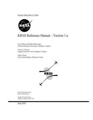 KB3D Reference Manual. Version 1.a by National Aeronaut