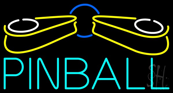 Pinball Logo Neon Sign Pinball Neon Signs Every Thing Neon