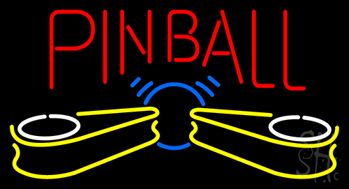 Pinball Logo Neon Sign Other Neon Signs Neon Light