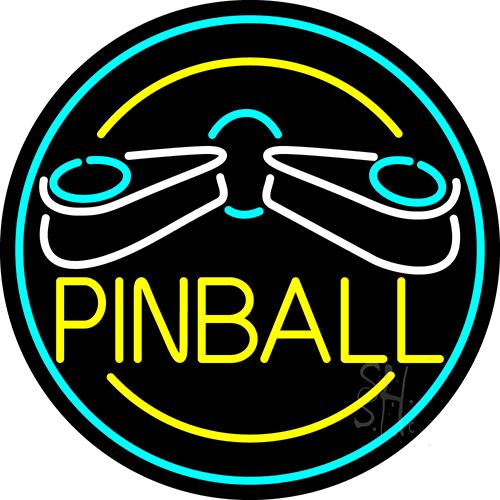Pinball Logo 2 Neon Sign Pinball Neon Signs The Sign Store