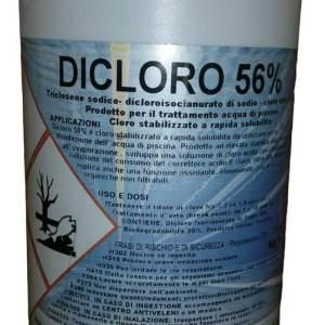 Dicloro Granulare 56% per Disinfezione Piscina