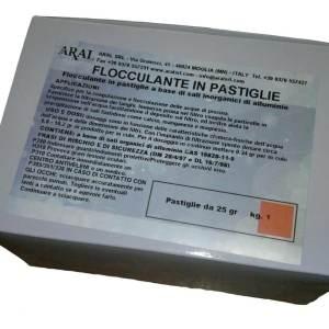 Flocculante Pastiglie 25 Gr per Piscine