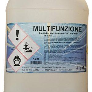 Multifunzione Piscina in Pastiglie da 200 gr
