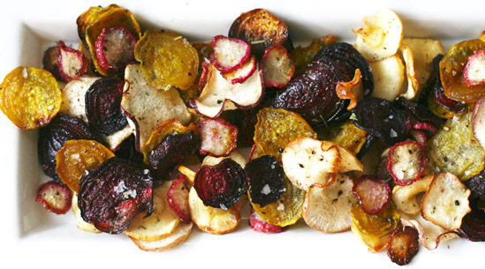 Roasted Veggie Chips