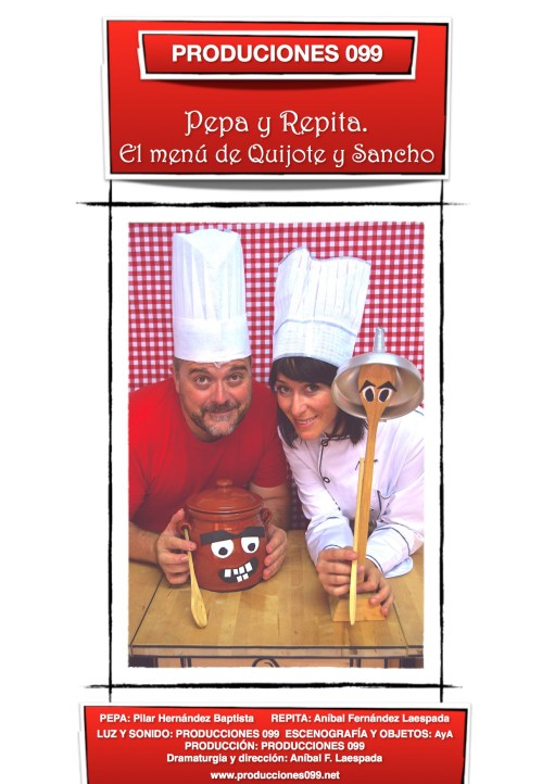 Pepa y Repita. El menú de Quijote y Sancho - PRODUCCIONES 099