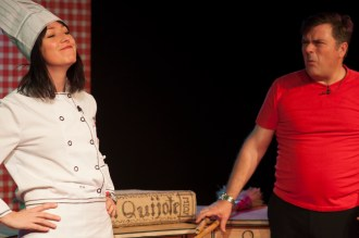 Pepa y Repita. El menú de Quijote y Sancho. PRODUCCIONES 099