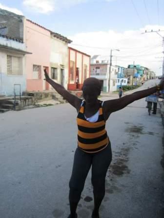 Nueva protesta de la mamá de Albertico Manso, Santa Clara, #Cuba