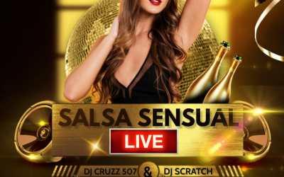 1 Hora De Salsa Sensual Vol.2 Live 2021-@dj_cruzz507 Ft @djscratchwayne