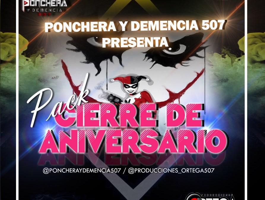 Pack De Mixes Cierre De Aniversario By Ponchera y Demencia