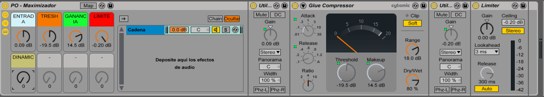 Ableton Live Rack Mixing