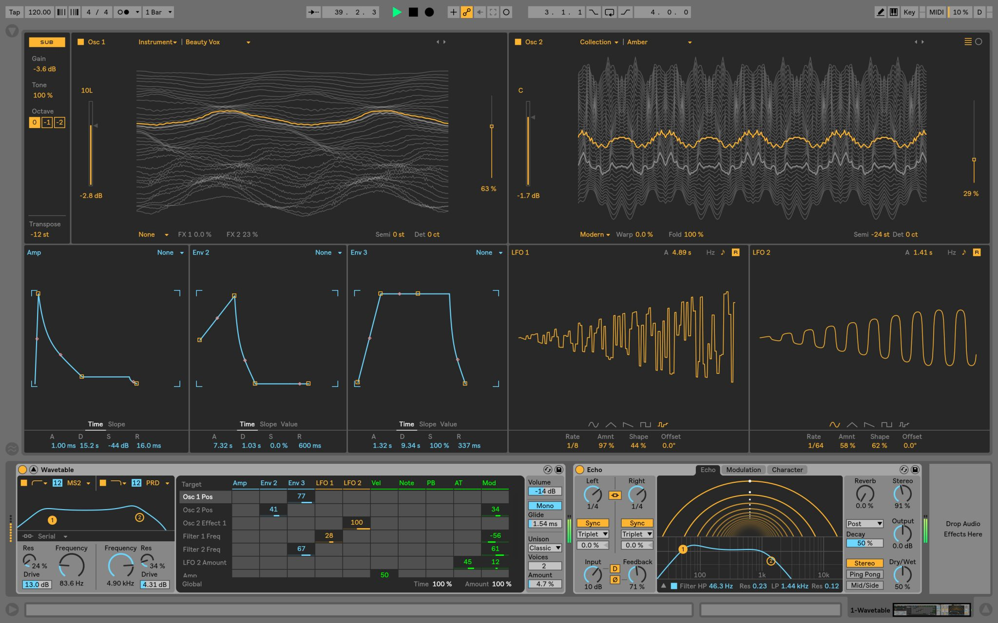 wavetable ableton live 10