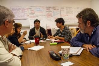 Sesión de discusión entre organizaciones asesoras