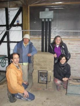 Construyendo una estufa SARA