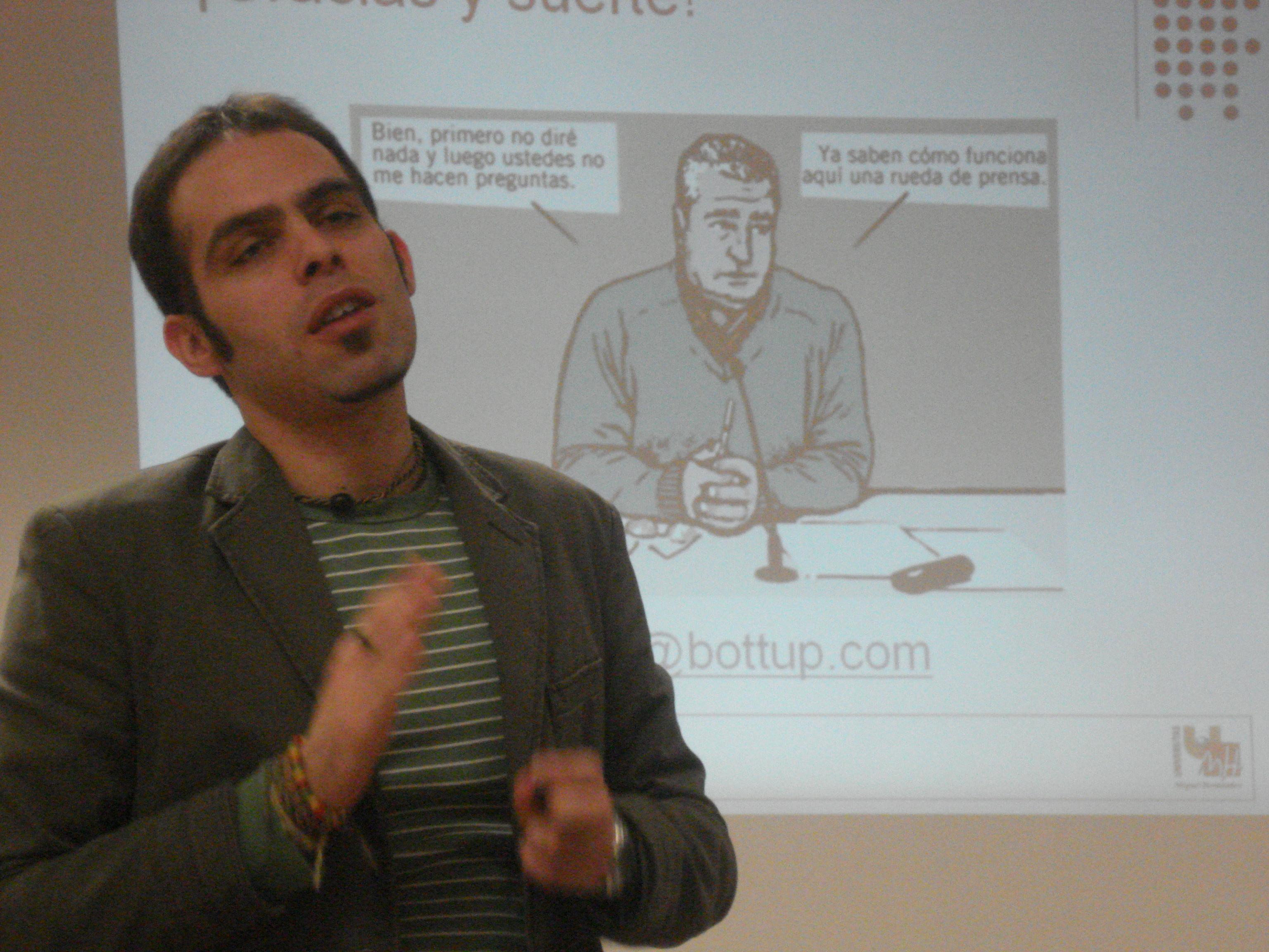Pau Llop, periodista y editor de e-contenidos.