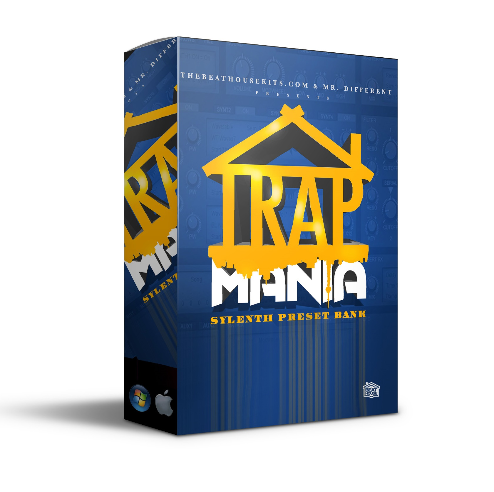 Trap Mania - Sylenth Presets - Download Music Loops, Sample Packs, VST  Presets & Libraries, Drumkits, Construction kits, Royalty Free