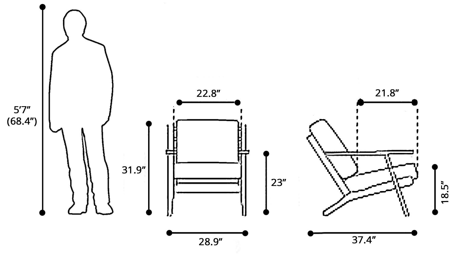Rent Tahoe Lounge Chair Beige Amp Dark Brown