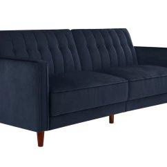 Sofa Sleeper San Francisco Corinthian Benton And Loveseat Halsey Pin Tufted Convertible Blue Velvet In Sf Sofas