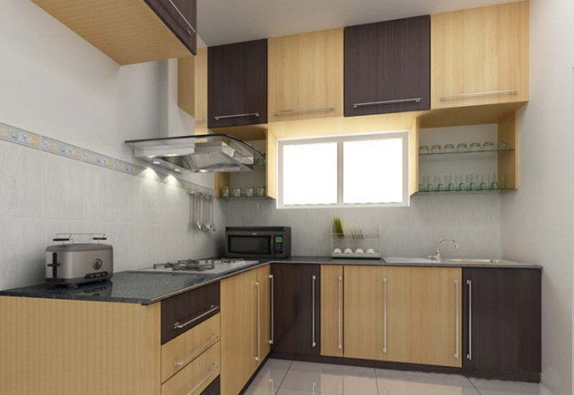 L Shaped Kitchen Price
