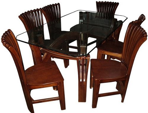 computer table chair price patio arm covers dining furniture set 6 10m glass veener wood bangladesh : bdstall
