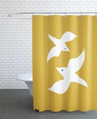 hamburg 74 shower curtain
