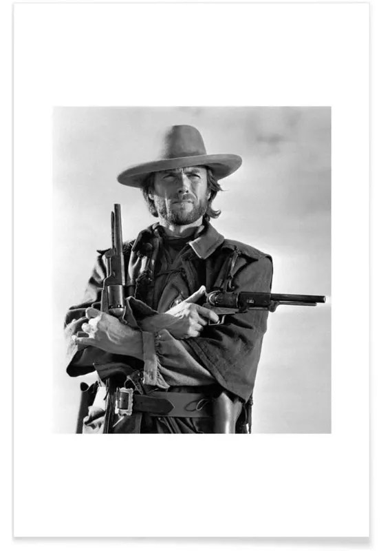 the outlaw josey wales 1975 photograph poster