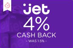 4% cash back