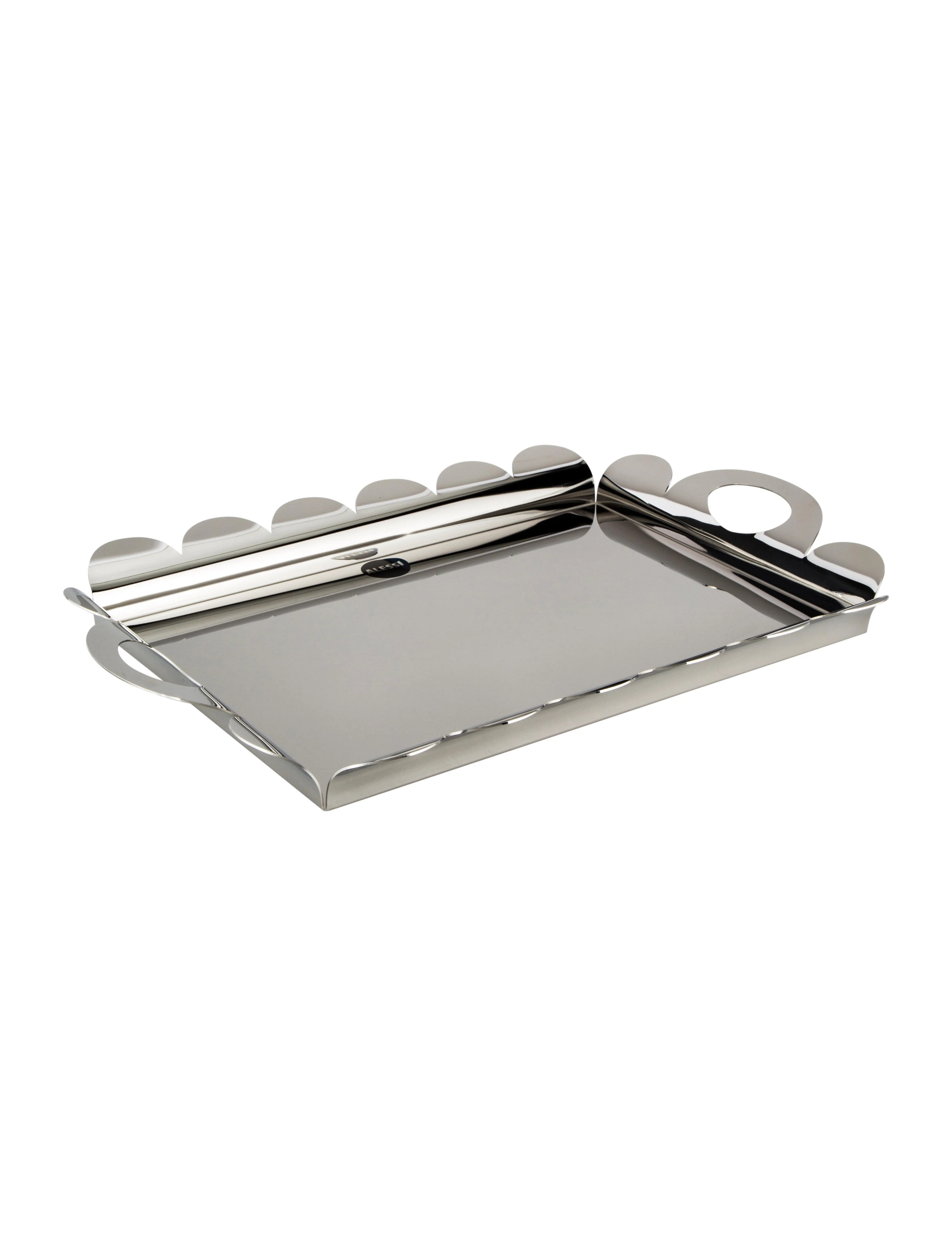 kitchen tray how many gallons is a trash can alessi recinto rectangular tabletop aei20766 shop consign