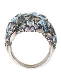 Alexis Bittar Fine Jewelry Heather Marquis Cluster Dome ...