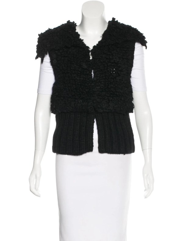 Alexander Wang Cable Knit Sweater Vest - Clothing
