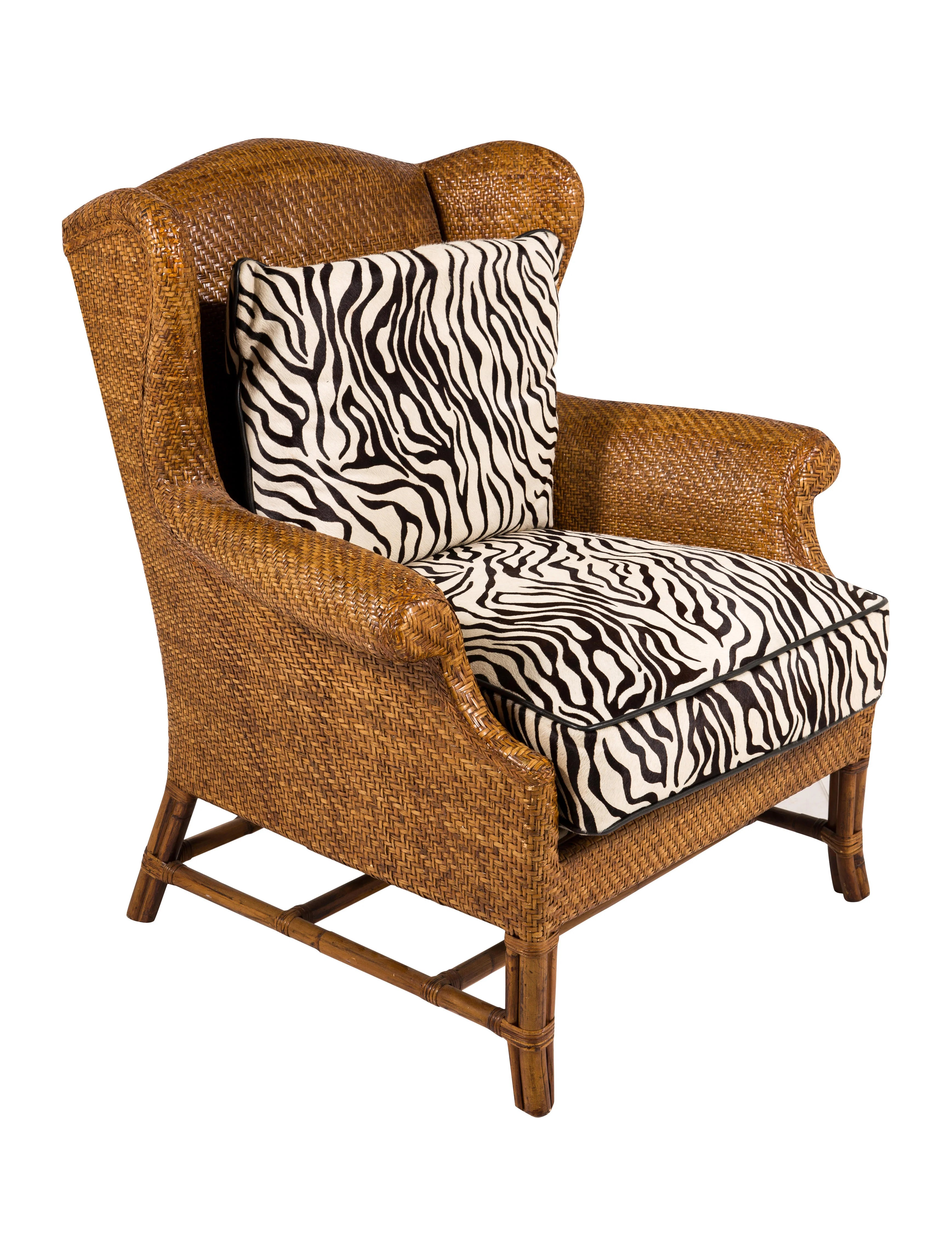 rattan wingback chairs childrens fold up table and baker milling road wing chair furniture