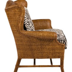 Wicker Wingback Chairs Swing Chair Olx Islamabad Baker Milling Road Rattan Wing Furniture